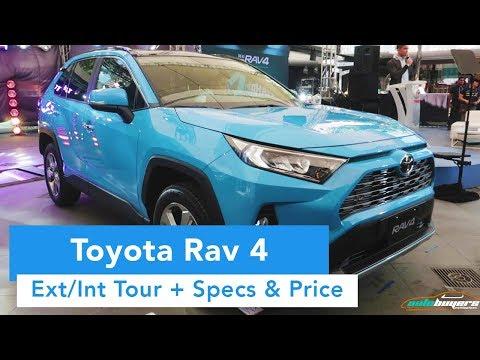 2019 Toyota RAV 4  (Ext/Int Quick Tour, Specs And Price)