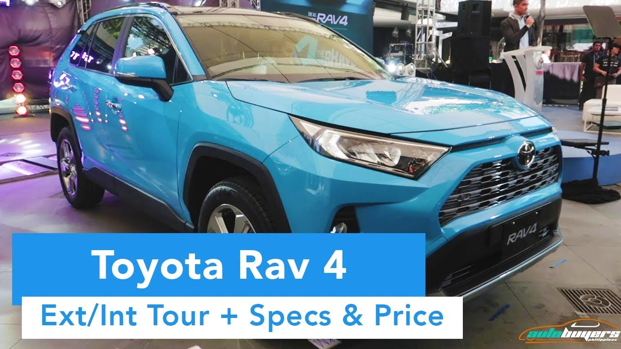 2019 Toyota RAV 4  (Ext/Int Quick Tour, Specs and Price)
