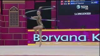 Boryana Kaleyn- Ribbon AA- WCh Baku 2019