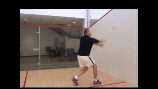 Squash - Returning a Serve