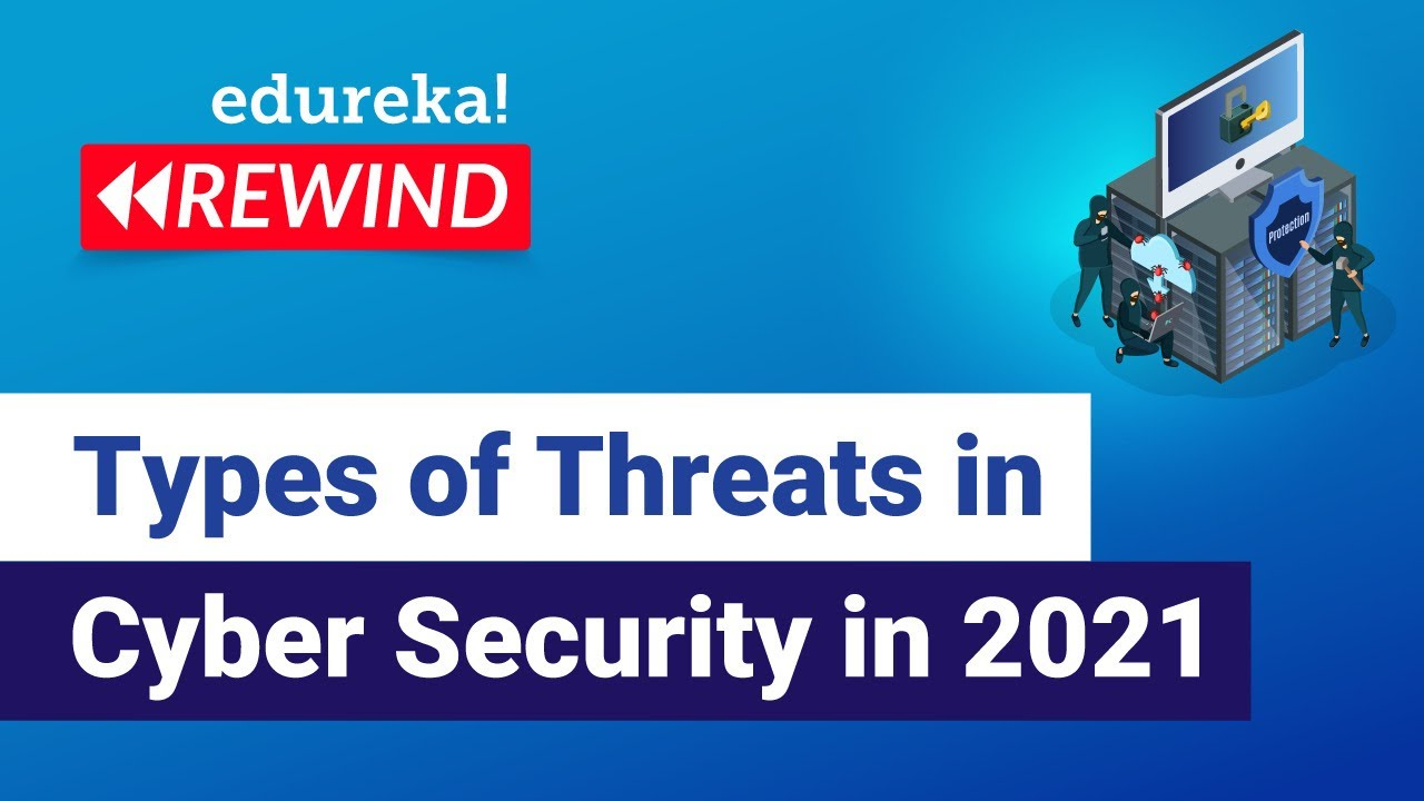 Types of Threats in Cyber Security in 2021   Cybersecurity Training