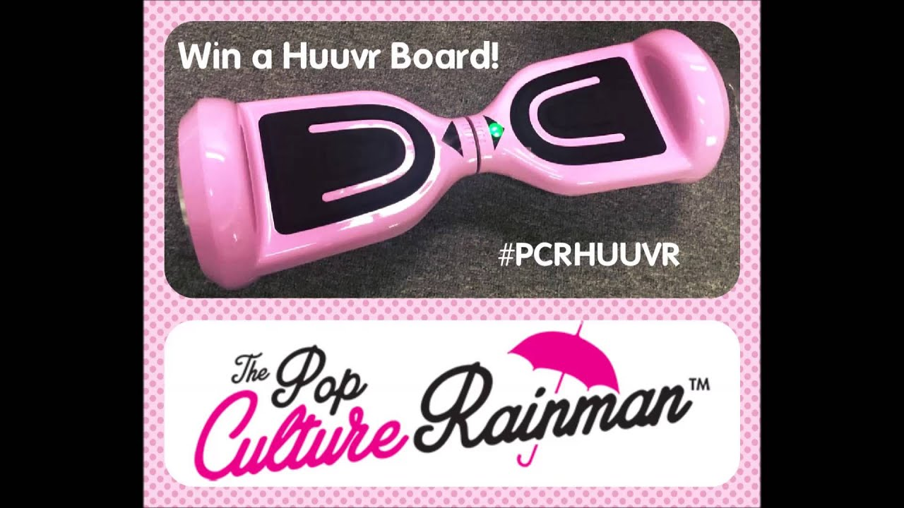 Free Hoverboard Giveaway Contest The Pop Culture Rainman