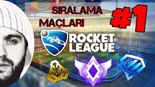 Rocket League : Türkçe - 3v3 Sıralama Maçları Seri