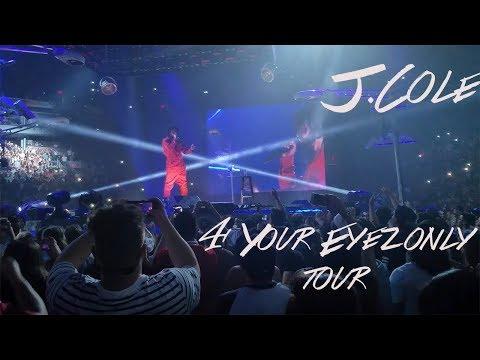 J COLE 4 YOUR EYEZ LY TOUR   Vlog 3