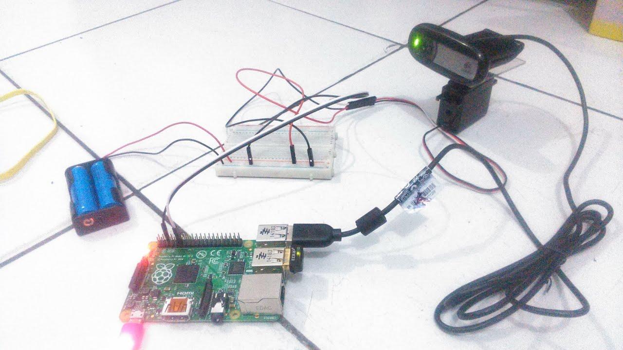 Raspberry Pi Webiopi Control Servo Motor Youtube