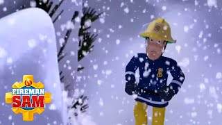 A Christmas Blizzard Rescue! | Fireman Sam | 1 Hour of Firefighter Team | Cartoons for Children
