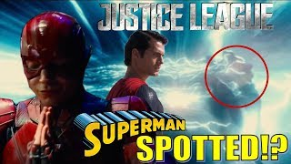 Superman SPOTTED in a Flash!? Justice League Movie Talk!