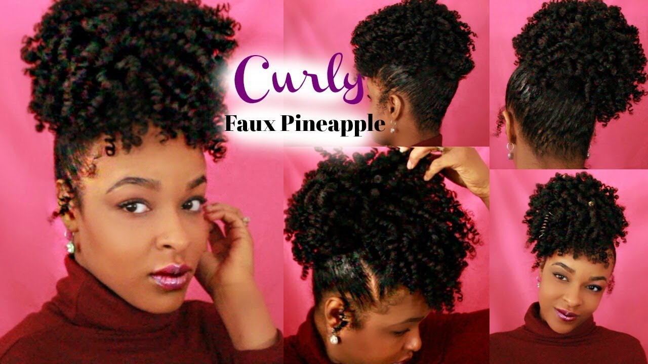 Faux Pineapple Updos Outre Timeless Pineapple Ponytail