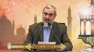 Nureddin Yıldız Hocaefendi, Üstad Kadir Mısıroğlu lîsan meselesi (Hâtıra)