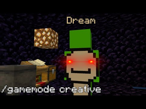 What Dream does when he's alone on the Dream SMP prison
