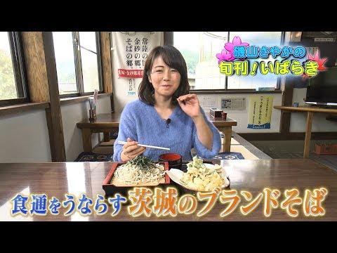 磯山さやかの旬刊!いばらき『常陸秋そば』(平成29年11月10日放送)
