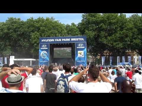 Lampard GOAL v Germany World Cup 2010