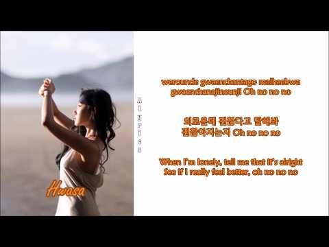 MAMAMOO (Hwasa Solo) - Be Calm (Rom-Han-Eng Lyrics)