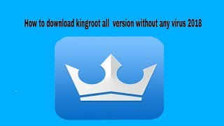 Gambar cover How to download kingroot  latest version 2018