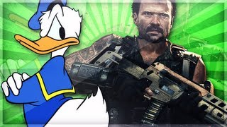 Donald Duck Gets Beat Up in Black Ops 2 [BO2]