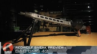 Sneak Preview: G&G G-MG42 Machine Gun AEG - RedWolf Airsoft RWTV