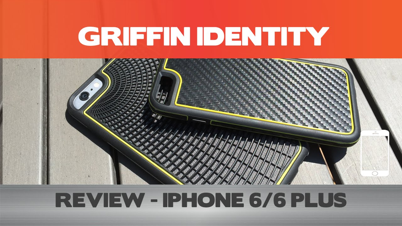 buy online d038f 73bda Griffin Identity Review - iPhone 6 cases