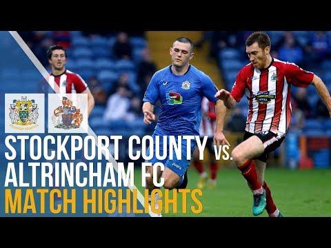 Stockport County Vs Altrincham FC - Match Highlights - 26.12.2018