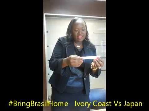 Ivory Coast Vs Japan #BringBrasilHome