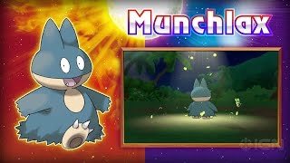 Special Munchlax for Pokemon Sun/Moon Official Announcement