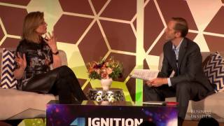 Arianna Huffington talks about the purpose of Thrive Global
