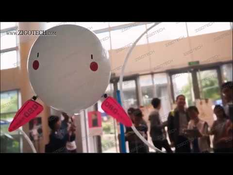 ZIGO TECH Newest R/C Helium balloon robot