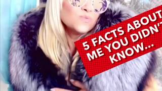 5 FACTS YOU DIDN'T KNOW ABOUT ME 😎 and my furs