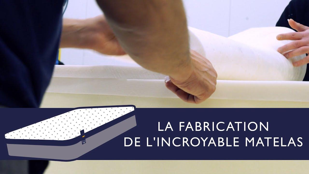 tediber la fabrication de l 39 incroyable matelas youtube. Black Bedroom Furniture Sets. Home Design Ideas