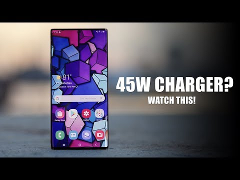 Galaxy Note 10 - Watch This Before Buying The 45W Charger