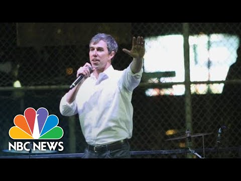 Beto O'Rourke Speaks Against Border Wall At Rally | NBC News