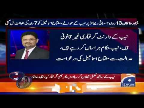 Shahid Khaqan Abbasi 13 Roza Jismani Remand Par NAB Ke Hawale