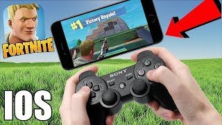 CONTROLLER ON MOBILE!! | Fortnite Mobile | ( No hack/cheat )