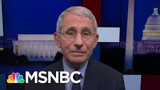Dr. Fauci Actively Studying Lingering Effects Of Covid-19 | Rachel Maddow | MSNBC