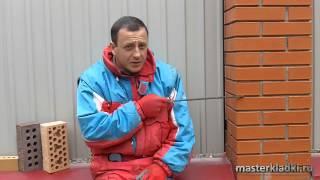 видео-ответ#7 Разрушение кирпича при глубоком шве. Миф или реальность? -  masterkladki