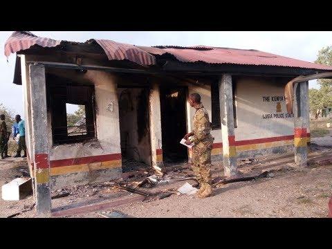 BREAKING: Al - Shabaab militants raid Ijara police post, steal land cruiser