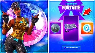 🔴 AN NEW EVENT!! NEW FREE DISCO CAMOUFLAGE GIFTS! LIVE FORTNITE EN