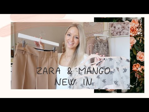 Zara & Mango New In // Autumn Winter Style Inspo // April's London Style Diary