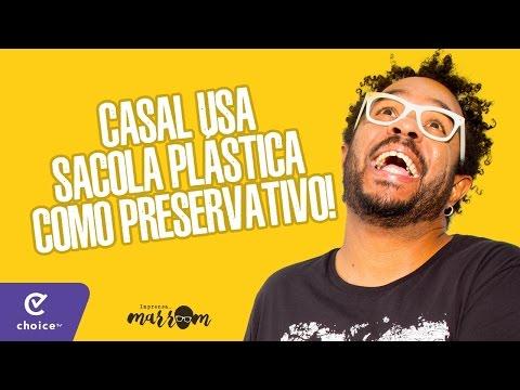 CASAL USA SACOLA PLÁSTICA COMO PRESERVATIVO - Imprensa Marrom 05