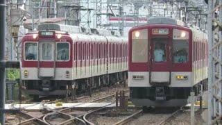 【通過する特急列車や折り返し列車など】近鉄大阪線・五位堂駅にて