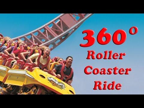 [EXTREME] Storm Runner! 360 VR Roller Coaster Ride! 4K