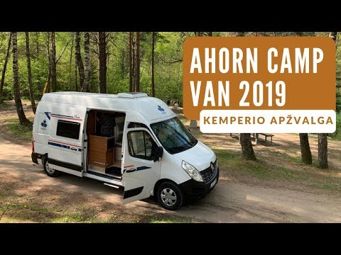 Ahorn CAMP VAN 2019 kemperio pristatymas