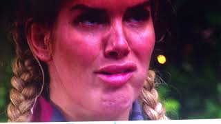 i'm a celebrity 2017. rebekah vardy funny face