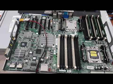 Replacing the Power supply backplane for the HP ML350 G6
