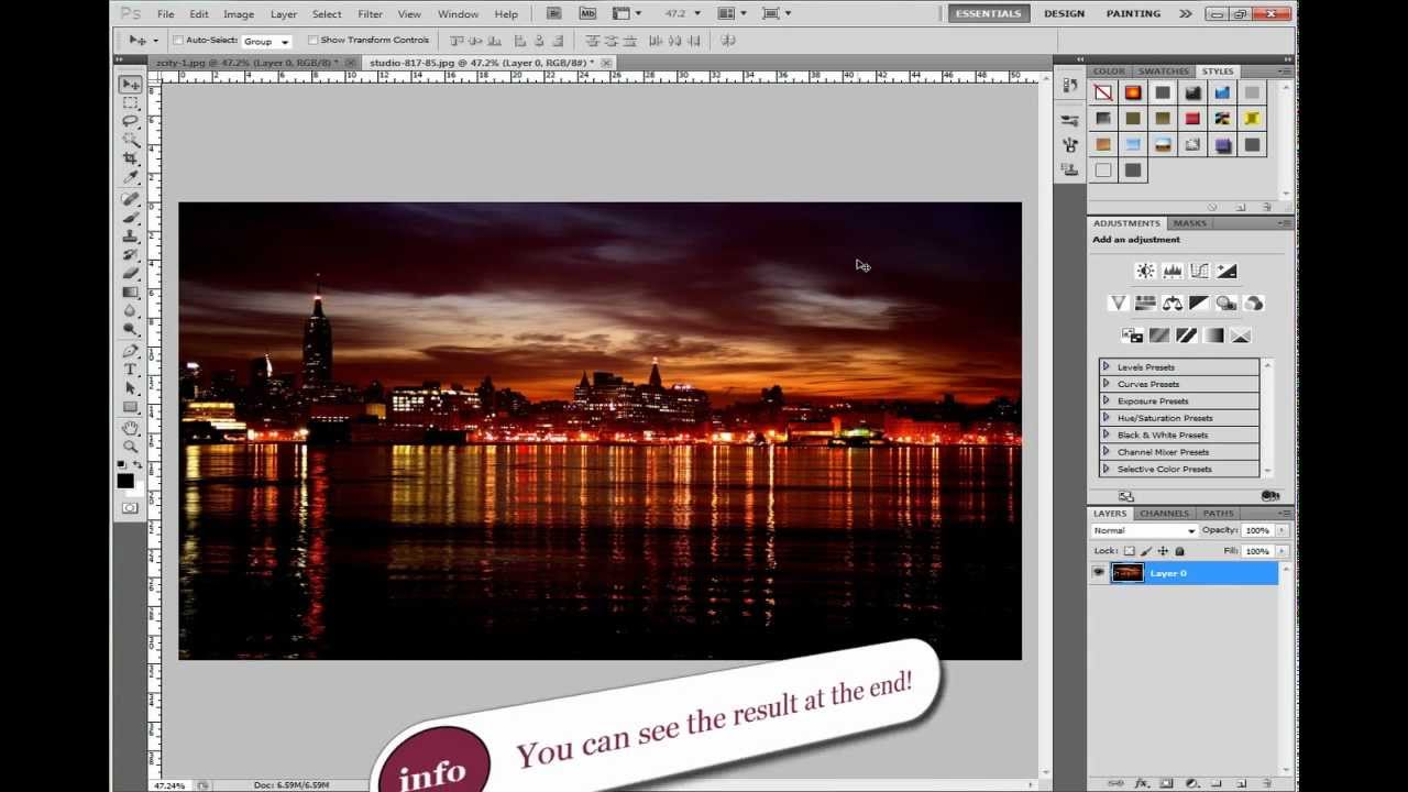 Shifting from photoshop cs5 to cs6 the blur gallery youtube.