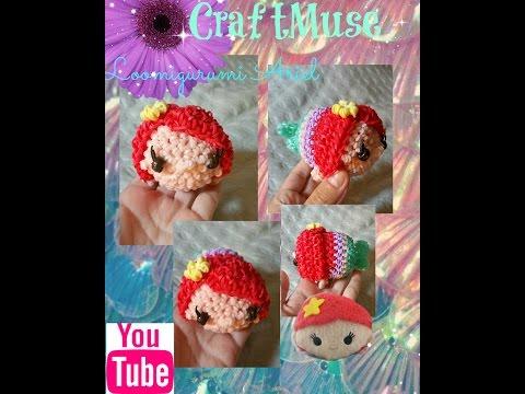 Rainbow Loom Loomigurumi Ariel (Inspired by Tsum Tsum)