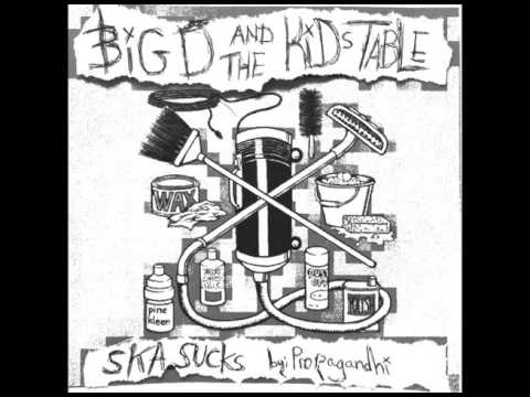 SKA Sucks   Big D And The Kids Table (cover By Propagandhi)