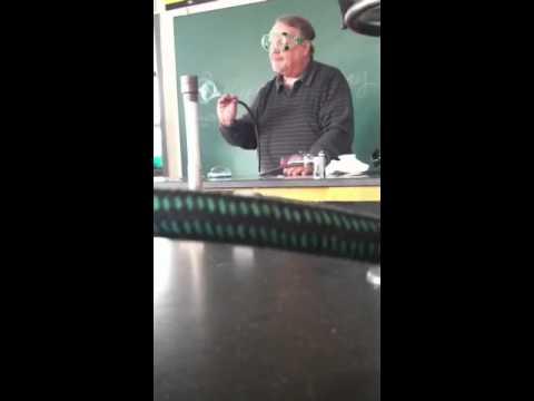 Chem. Class at Newark Catholic high school.