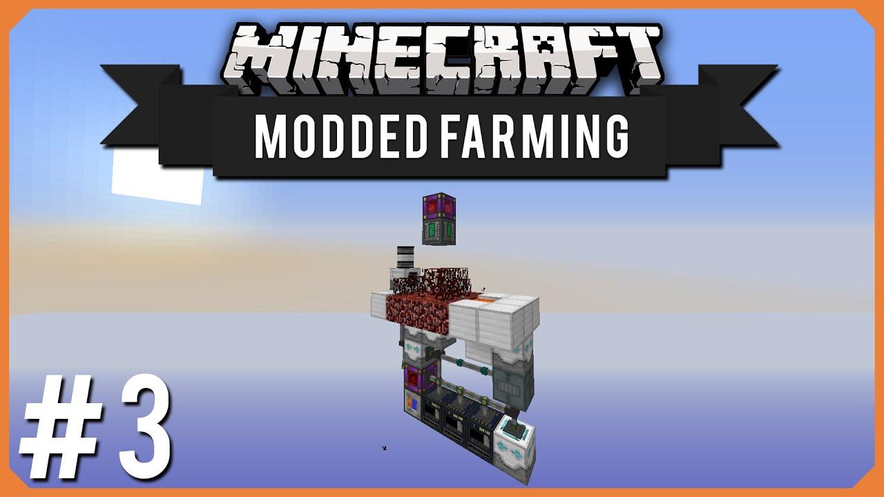 Minecraft Modded Farming Episode 3 Infinite Quartz Youtube
