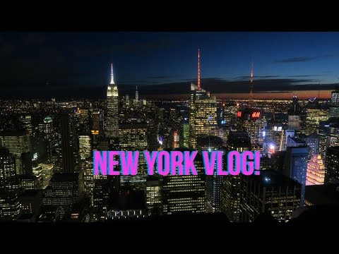 NEW YORK VLOG!