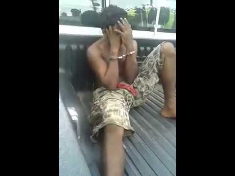 Dief aangehouden in Suriname 22